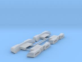 1/1000 Variant Impulse Engine 4pk in Smooth Fine Detail Plastic