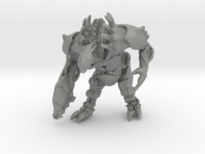 Mass Effect Brute 48mm miniature for games rpg in Gray PA12