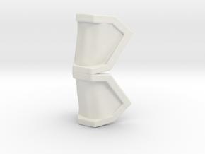 Kiramager Shoulder LC  in White Natural Versatile Plastic