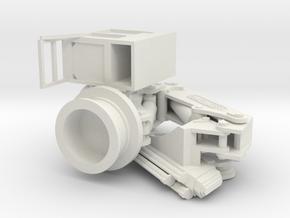 Palfinger PK 65002 M Crane - PARKING - 1:50 in White Natural Versatile Plastic