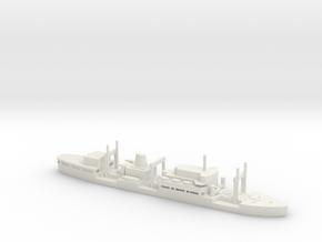 1/1250 Scale USNS Sirius Class in White Natural Versatile Plastic