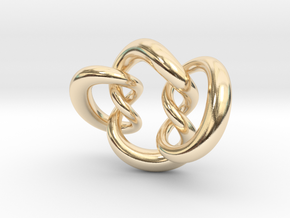 Knot A in 14K Yellow Gold
