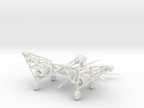 (1:144) Focke Achgelis Fa.284 Early Design in White Natural Versatile Plastic