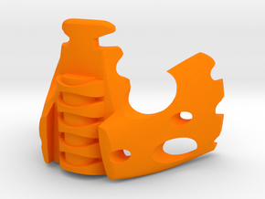 Vahi Prototype (completed version) in Orange Processed Versatile Plastic
