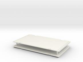 Verbauplatte 2.8m / shoring plate in White Natural Versatile Plastic: 1:50
