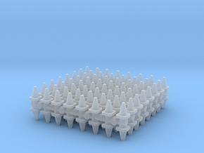Traffic Cones (x128) 1/400 in Smooth Fine Detail Plastic