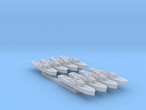 8pk Fairmile B motor torpedo boat WW2 1:1800 in Smooth Fine Detail Plastic