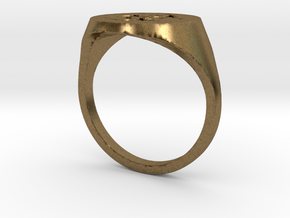 Toxic Ring in Natural Bronze
