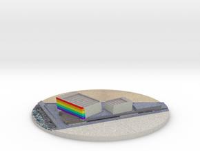 Edificio Kursaal Día del orgullo LGTB in Natural Full Color Sandstone