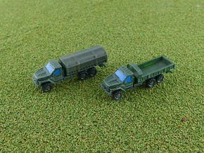 Russian GAZ Ural Next Truck 1/285 in Smooth Fine Detail Plastic