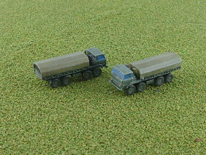 Ural 5323-21 8x8 Heavy Truck 1/285 in Smooth Fine Detail Plastic