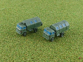 GDR IFA W-50 3to Truck w. Koffer / Box Body 1/285 in Smooth Fine Detail Plastic