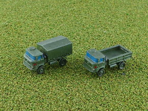 GDR IFA W-50 3to 4WD Truck 1/285 in Smooth Fine Detail Plastic