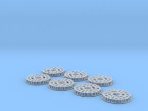 1:32 Landing Gear Rings in Smooth Fine Detail Plastic