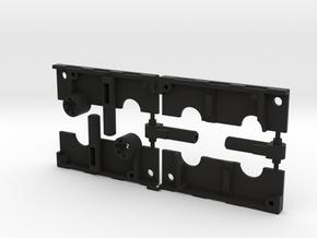 Dual Gun Tape in Black Natural Versatile Plastic