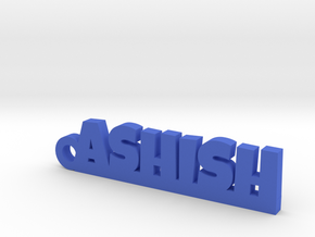 ASHISH_keychain_Lucky in Blue Processed Versatile Plastic