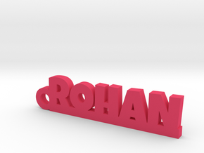 ROHAN_keychain_Lucky in Pink Processed Versatile Plastic