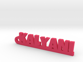 KALYANI_keychain_Lucky in Pink Processed Versatile Plastic