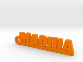 MADHIA_keychain_Lucky in Orange Processed Versatile Plastic
