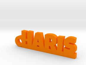HARIS_keychain_Lucky in Orange Processed Versatile Plastic