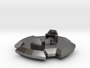 Ravine Disc in Polished Nickel Steel
