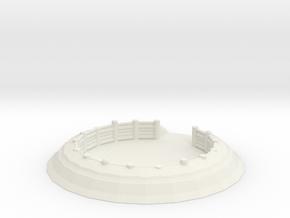 Gun Emplacement 1/120 in White Natural Versatile Plastic