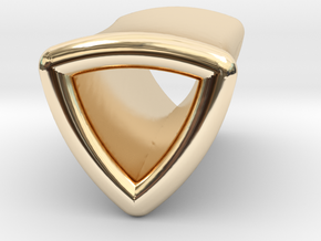 Stretch Shell 5 By Jielt Gregoire in 14K Yellow Gold