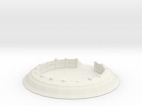 Gun Emplacement 1/144 in White Natural Versatile Plastic