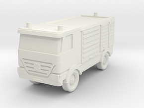 Mercedes Actros Fire Truck 1/144 in White Natural Versatile Plastic