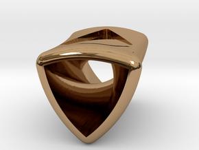 Rotor 6  By Jielt Gregoire in Polished Brass