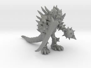 Tyrant Bones kaiju monster 56mm miniature fantasy in Gray PA12