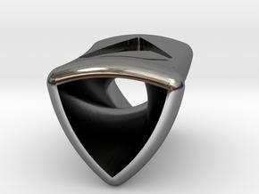 Rotor 6  By Jielt Gregoire in Fine Detail Polished Silver