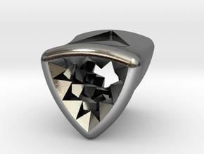 Stretch Diamond 8 By Jielt Gregoire in Polished Silver