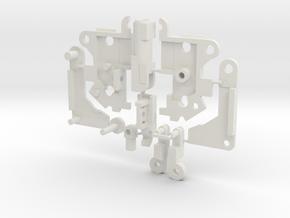 Emplacement Gun Tape V2 COMBAT System Compatible in White Natural Versatile Plastic