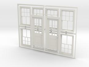 CPR standard No. 5 doors  No. 8 windows in White Natural Versatile Plastic