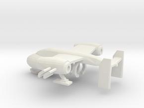 Dune Carryall / Game version in White Natural Versatile Plastic