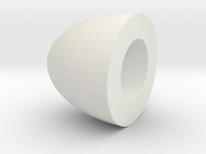 Amazing Jarv in White Natural Versatile Plastic