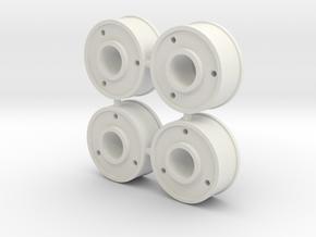 4xJanteAV20-Deport+3 in White Natural Versatile Plastic
