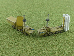 S-300 / SA-10 Grumble SAM Battery 1/285  in Smooth Fine Detail Plastic