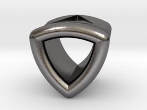 Stretch Shell 10 By Jielt Gregoire in Polished Nickel Steel
