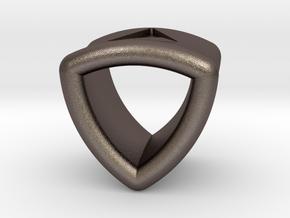 Stretch Shell 12 By Jielt Gregoire in Polished Bronzed Silver Steel