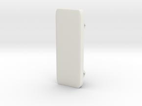 推紐 in White Premium Versatile Plastic