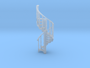 s-87fs-spiral-stairs-market-2a in Smooth Fine Detail Plastic