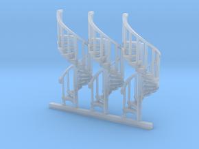 s-100fs-spiral-stairs-market-x3 in Smooth Fine Detail Plastic