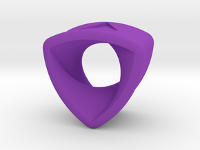 Stretch Rotor 16  By Jielt Gregoire in Purple Processed Versatile Plastic