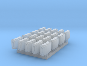 28mm Backpacks (20x) in Smooth Fine Detail Plastic