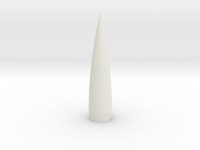 Black Brant VIII Ogive Cone for BT-70 in White Natural Versatile Plastic