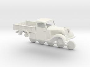 mercedes 170V scale 1:87 in White Natural Versatile Plastic