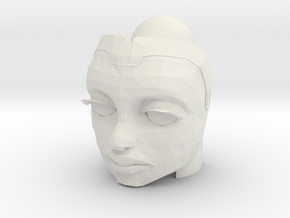 Ahsoka Head (Season 7) | CCBS in White Natural Versatile Plastic