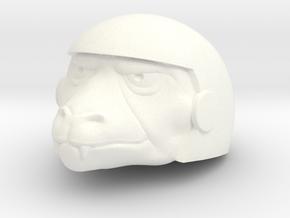 Horde Invader Repta Head in White Processed Versatile Plastic